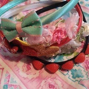 5 girls headbands